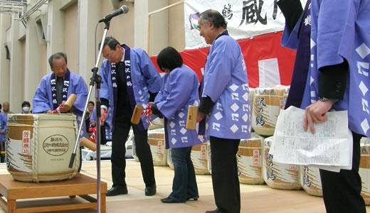 沢の鶴蔵開き2014-2