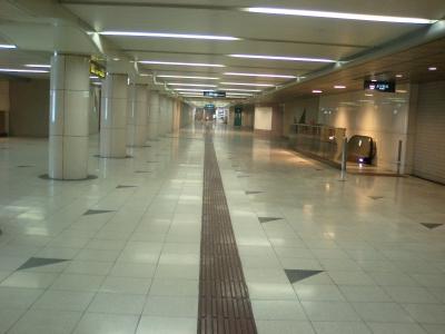 広い駅です。