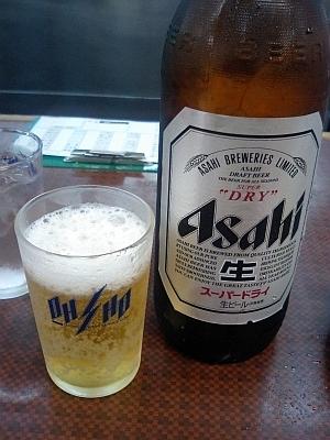 まずはビールから ( ^o^)