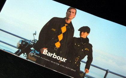 Barbourのカタログ(表紙)