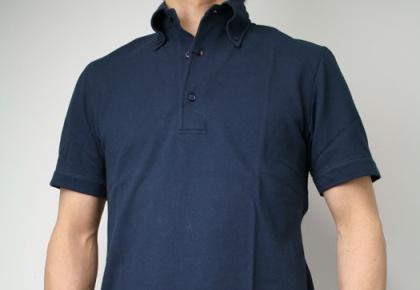 GUY ROVER/ギローバーのボタンダウンなポロシャツ。
