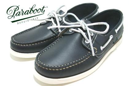 Paraboot Barth/パラブーツのデッキシューズ・バース。