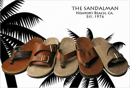 THE SANDALMAN/サンダルマンのサンダル。
