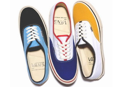 VANSのデッキシューズAUTHENTIC/BEAUTY&YOUTH UA 別注カラー