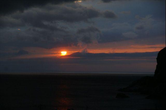 利尻島の夜明け0000