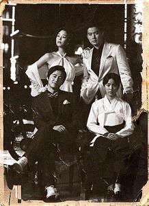 白黒ポスター