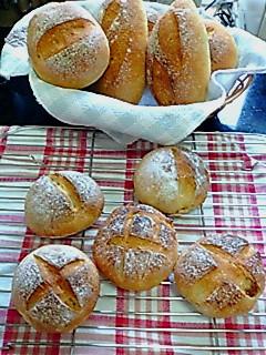 ホシノ&ヨーグル酵母パン