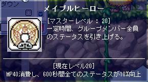 080605 MHスキルレベル20