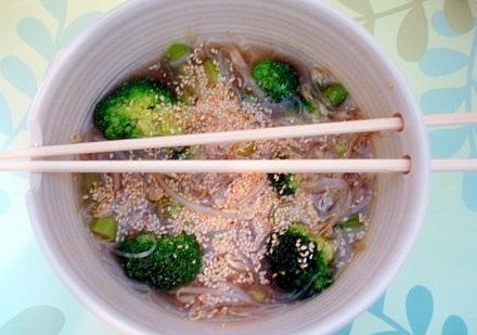 ブロッコリー中華スープ3