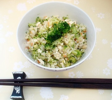 ブロッコリーご飯