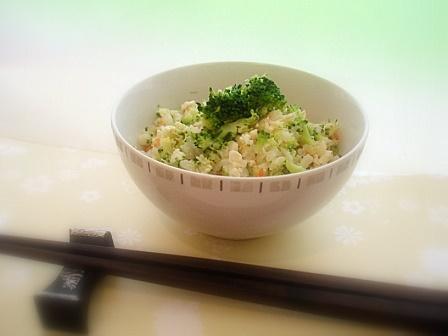 ブロッコリーご飯2