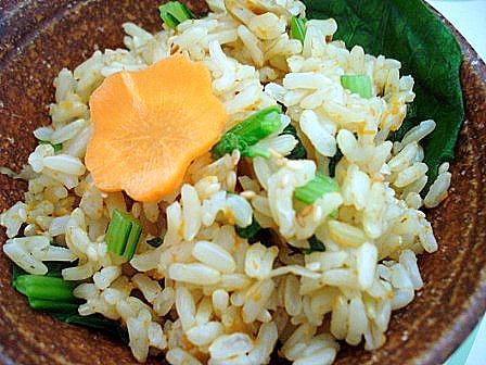 広東菜ご飯2