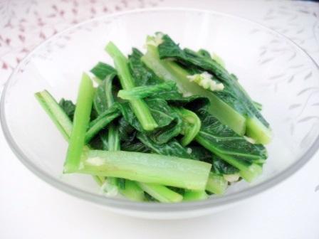 広東菜和え3