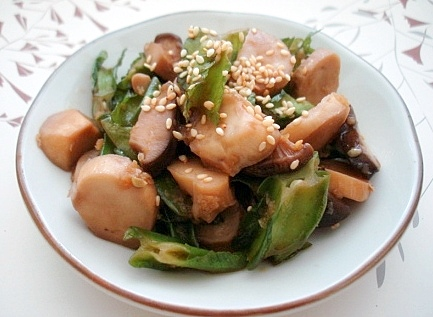 四角豆ナムル