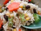 四角豆カラフル玄米