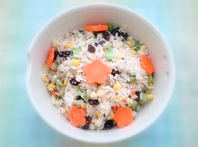 四角豆カラフル玄米3