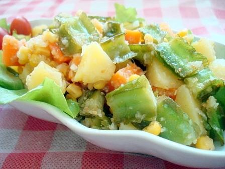四角豆洋風サラダ