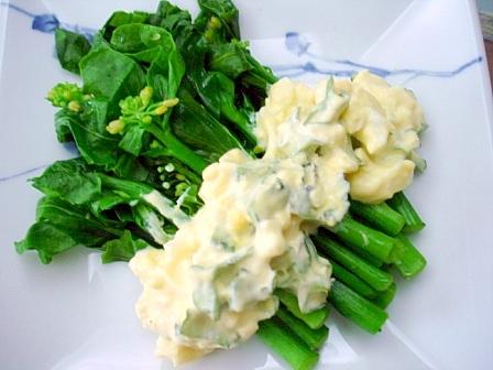 四角豆卵ソース2