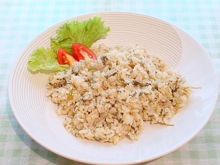 ハーブパクチーご飯(2)