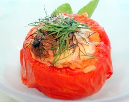 ハーブトマトご飯