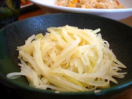 ピーマンジャガイモ炒め3