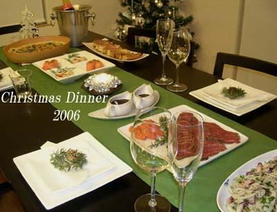 クリスマスディナー2006