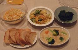 2008年3月18日ディナー