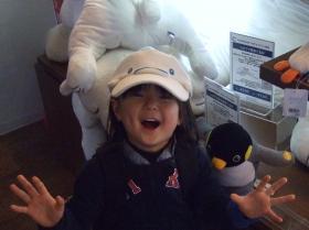 2008年3月18日ベルーガ帽子