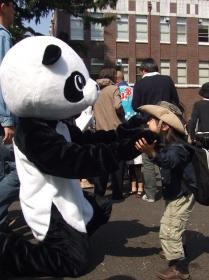 2008年4月6日パンダ