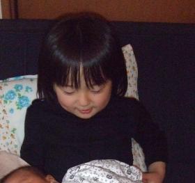 2008年4月15日抱っこ