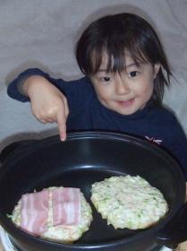 2008年4月21日お好み焼き