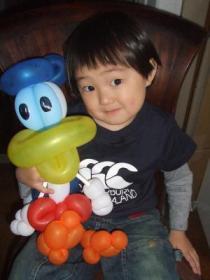 バルーン2007年4月29日ドナルド