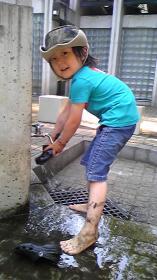 2008年5月21日洗いましょっ