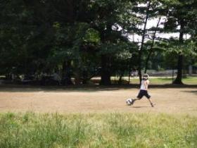 2008年6月14日サッカー少年