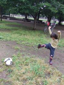 2008年6月21日サッカー