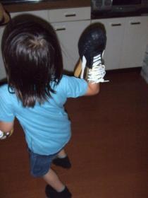 2008年6月27日靴