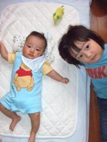 2008年6月27日兄弟♪