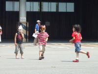 2008年7月20日お面遊び