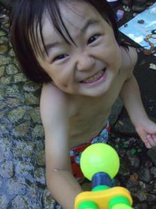 2008年8月7日水鉄砲