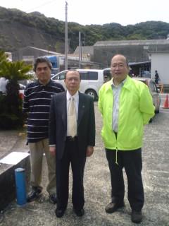 藤平市長・西川総務課長
