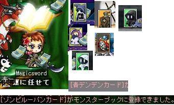 メイプルカード1