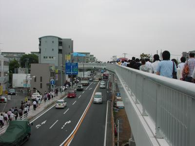 愛甲宮前歩道橋 08,6,18