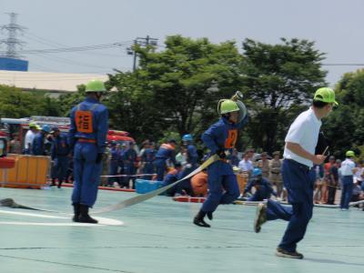 消防操法訓練②