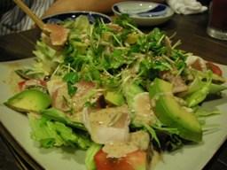 アボカドのサラダ
