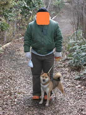 西郷クマ盛と忠犬クマ子。