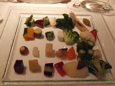 chez tomo(シェ・トモ)  野菜の盛り合わせ