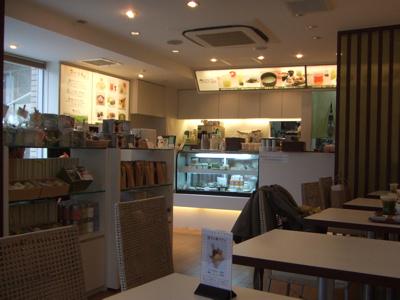 代官山 cafe suruga(カフェ スルガ) 店内