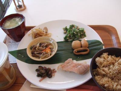代官山 cafe suruga(カフェ スルガ) 玄米しょうがセット