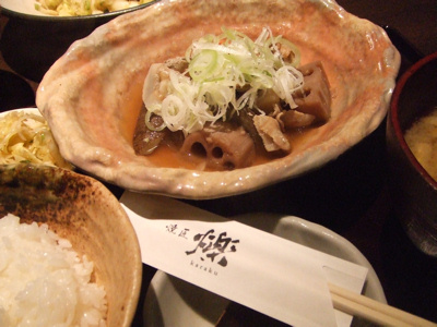 火楽 (karaku)新橋店  いも煮定食