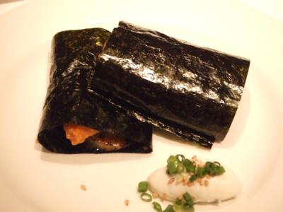 タワシタ 平貝の磯辺焼き